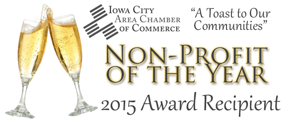Non-Profit of the Year 2015 award